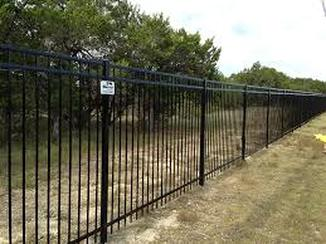 Weatherford Fencing Company Iron Fence